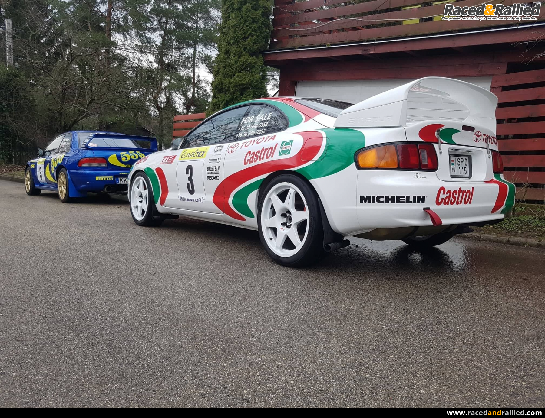 Toyota Celica GT4 GR | Rally Cars for sale at Raced & Rallied ...