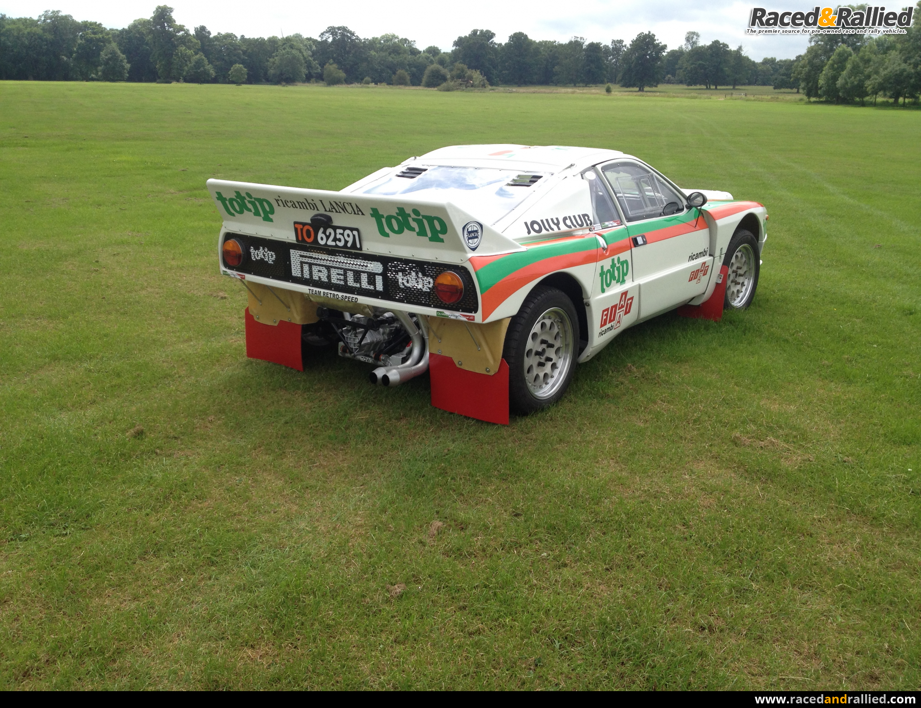 lancia 037 recreation | Rally Cars for sale at Raced & Rallied | rally cars for sale, race cars