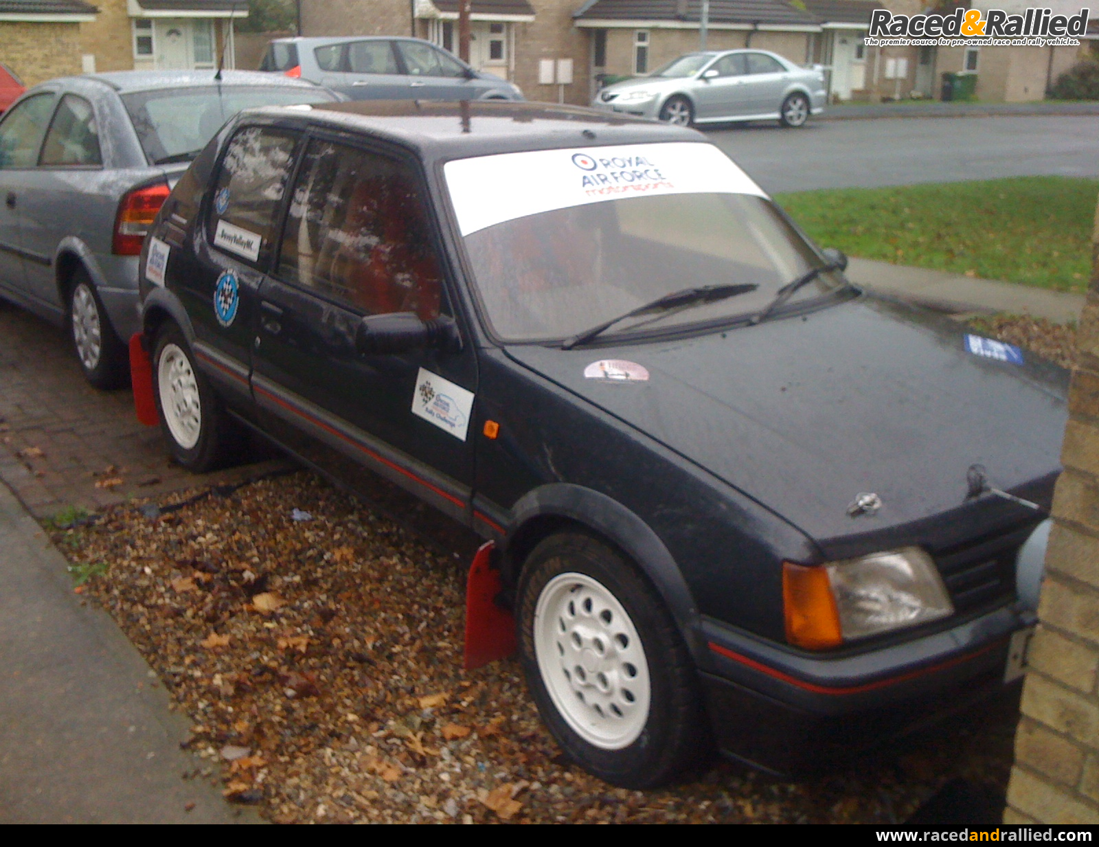 205 GTI 1600 | Rally Cars for sale at Raced & Rallied | rally cars ...