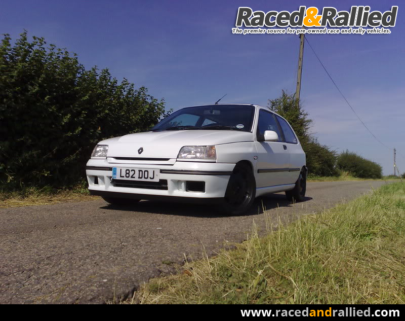 Clio 16v, Williams engined trackday car. 180bhp, coilovers, very ...