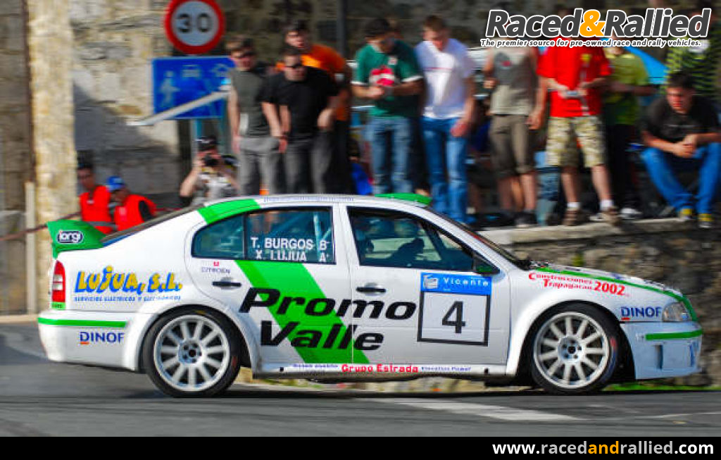 SKODA OCTAVIA WRC | Rally Cars for sale at Raced & Rallied | rally ...