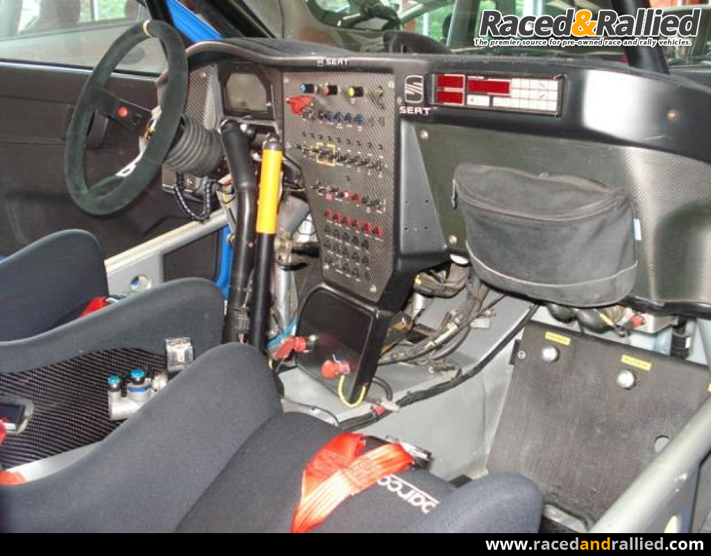 FOR SALE SEAT CORDOBA WRC EVO 2 Y MEDIO | Rally Cars for sale at ...