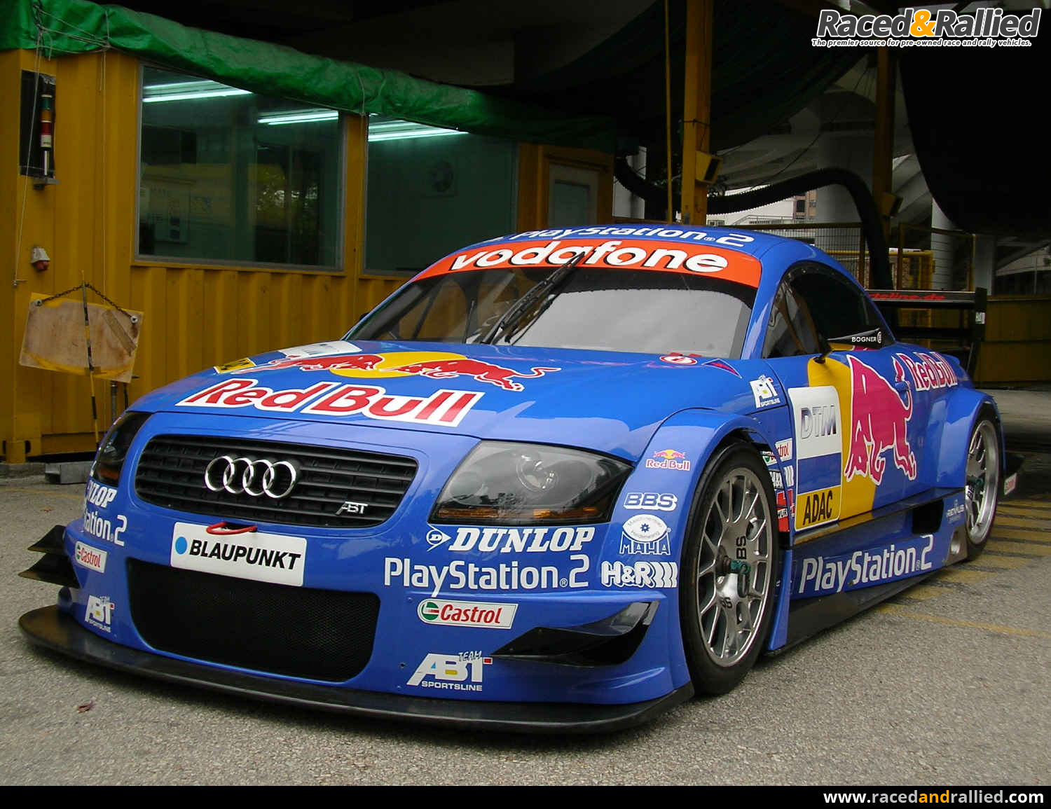 Audi Dtm Tt R Race Cars For Sale At Raced Amp Rallied