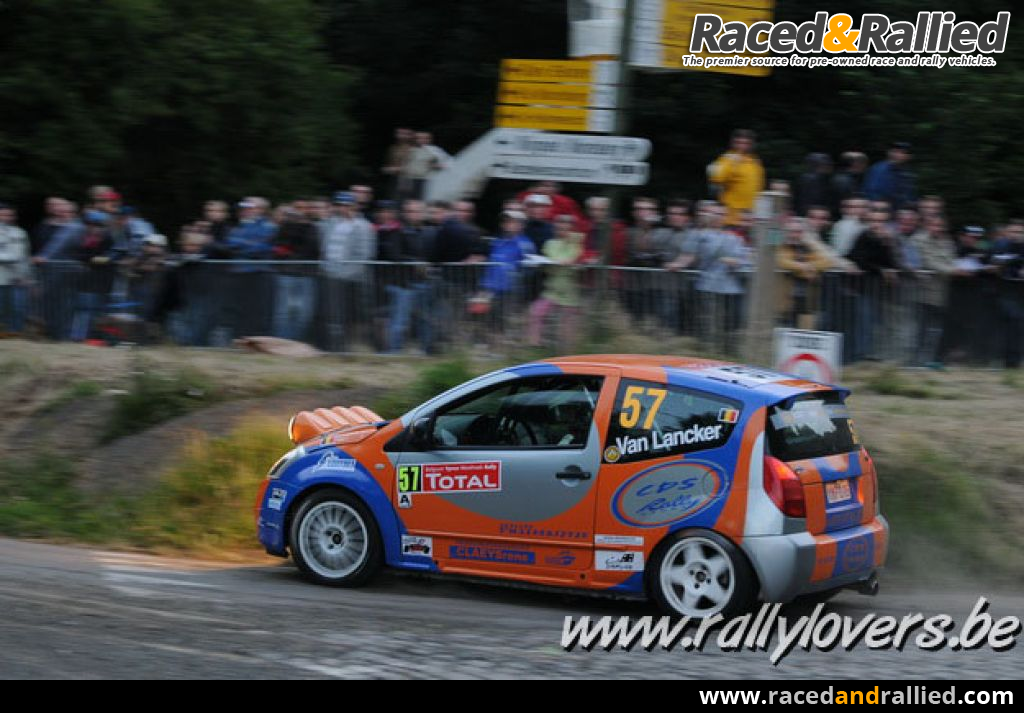 citroen C2R2 TOP EVO 192 HP | Rally Cars for sale at Raced & Rallied ...