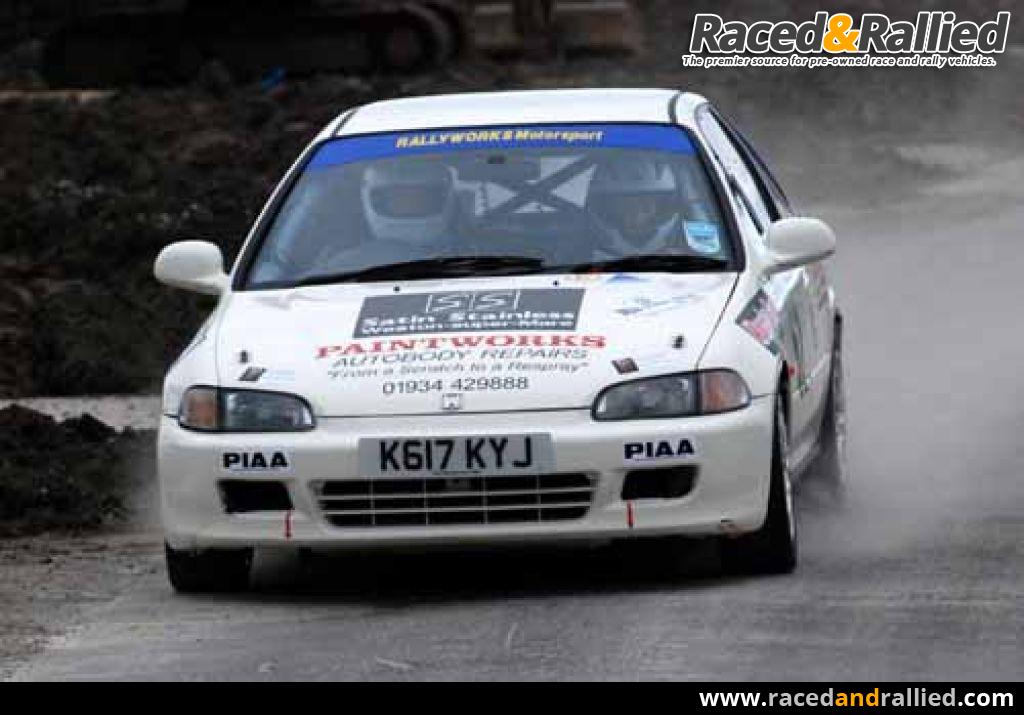 Honda civic eg6 vti rally car rally cars for sale at for Honda civic rally car