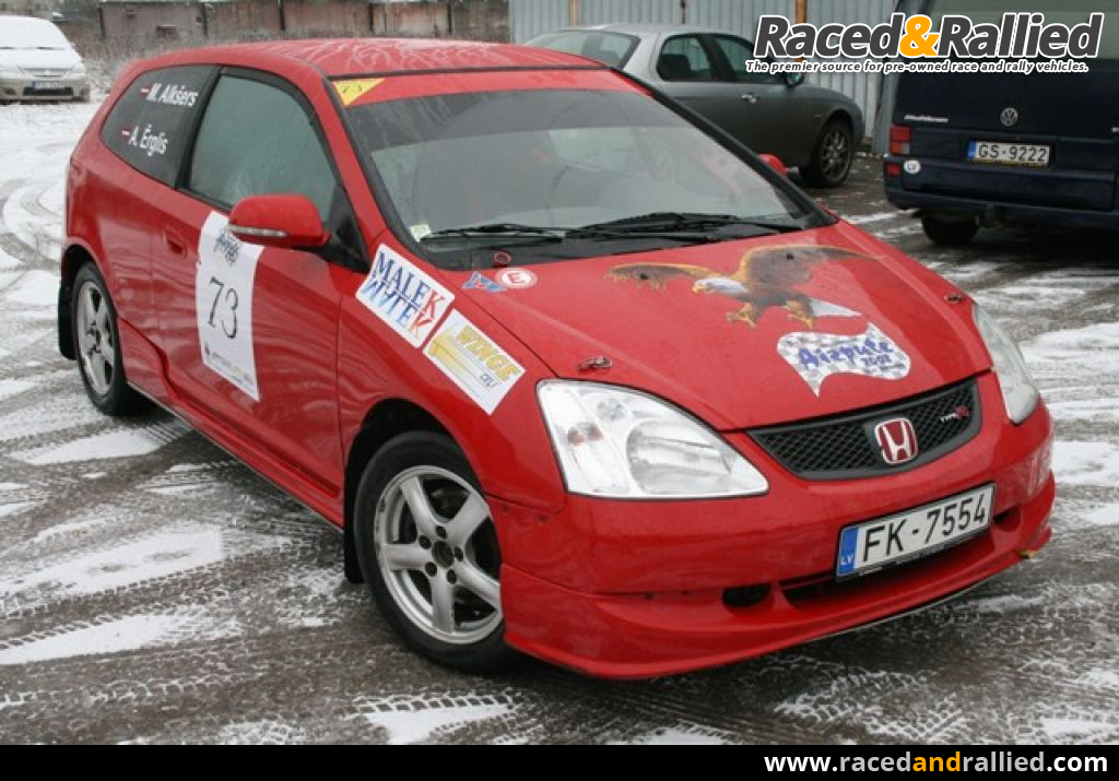 Honda civic ep3 for sale rally cars for sale at raced for Honda civic rally car