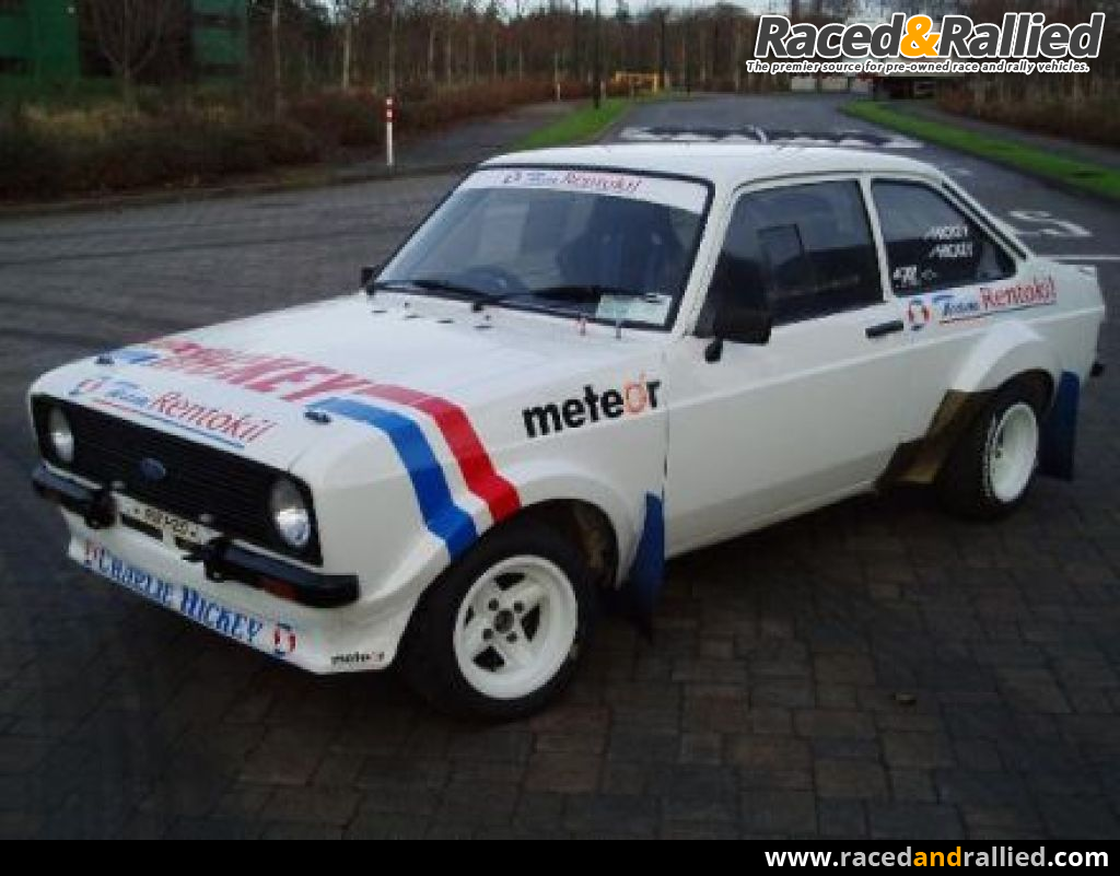 ford escort rs mk2 gp4 | Rally Cars for sale at Raced & Rallied ...