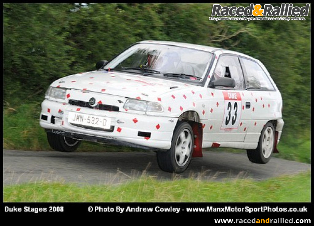 Vauxhall Astra MK3 Rolling Car | Rally Cars for sale at Raced ...