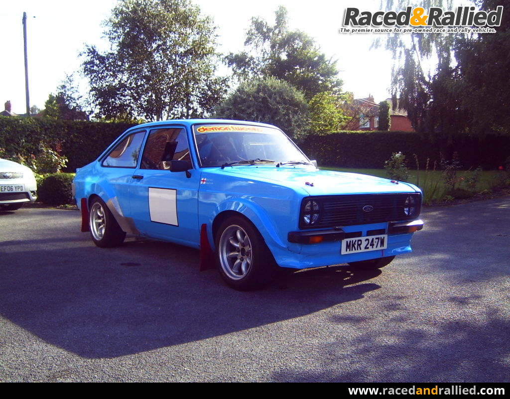 Tarmac Grp4 Escort Mk2 | Rally Cars for sale at Raced & Rallied ...