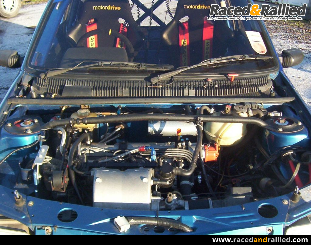 PEUGEOT 205 GTi RALLY CAR   Rally Cars for sale at Raced & Rallied ...