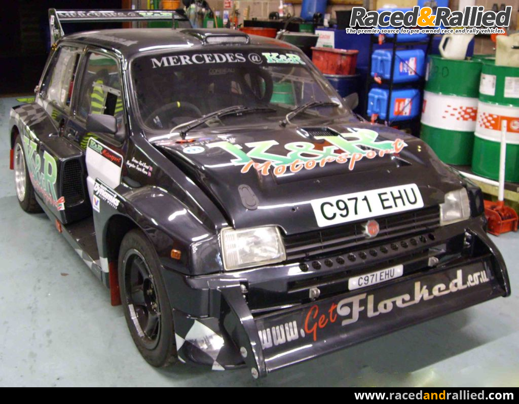 Metro 6R4 Tarmac Rally Car For Sale | Rally Cars for sale at Raced ...