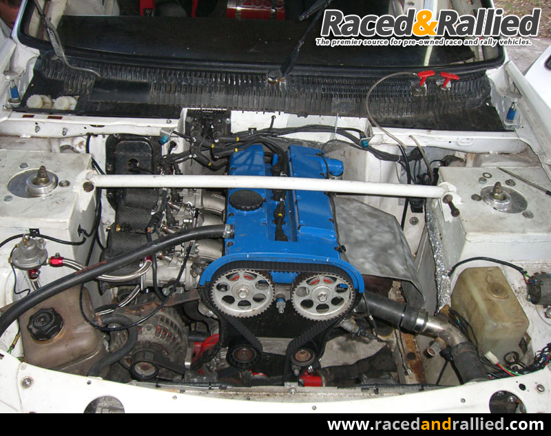 Rear Wheel Drive Peugeot 205 200bhp Sequential Rally