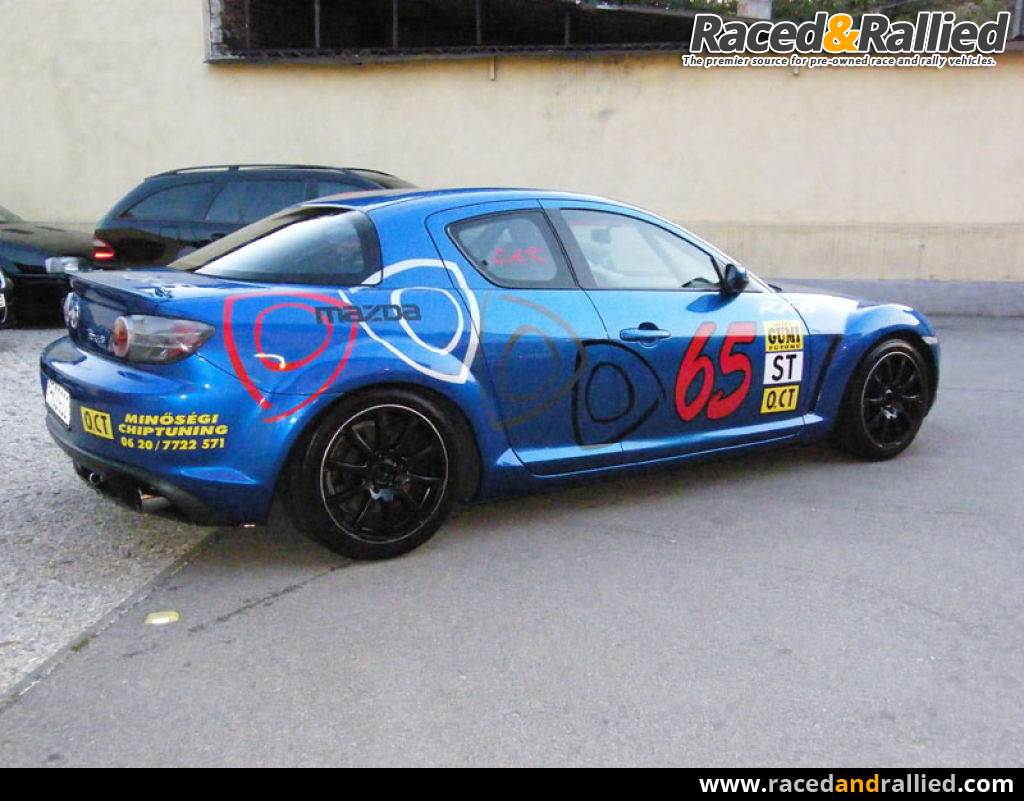 Mazda RX8 | Race Cars for sale at Raced & Rallied | rally ...