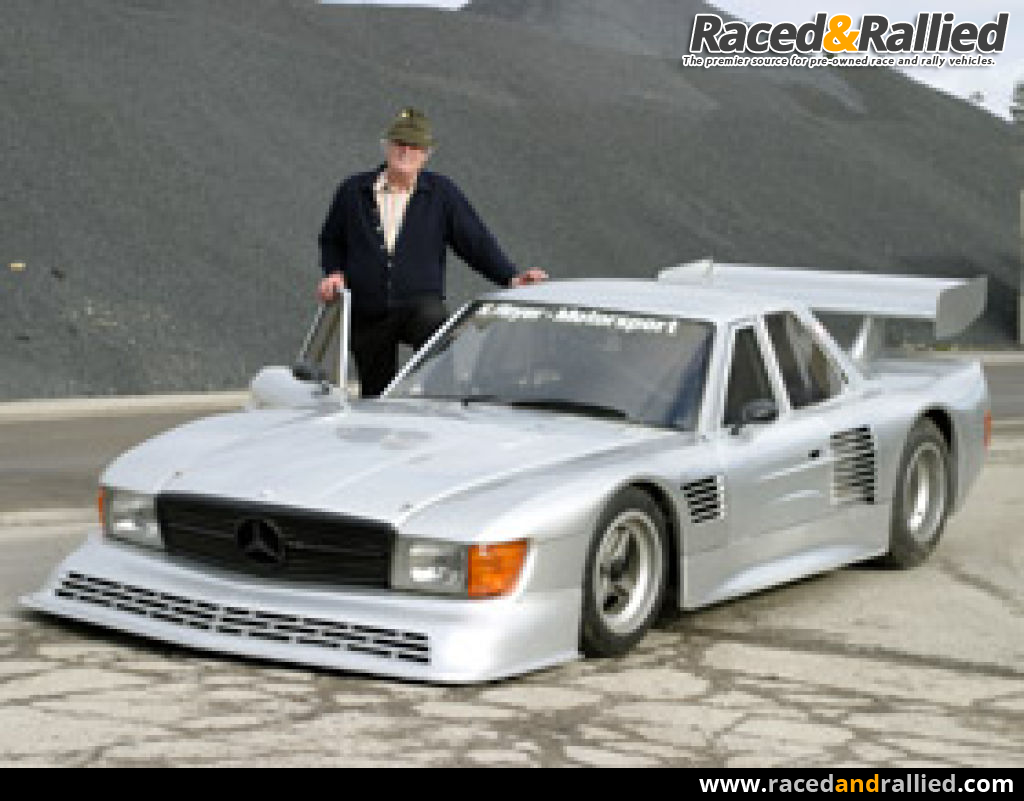 Mercedes 5.0 SCL designed for 24h Le mans end of the 70th | Race ...