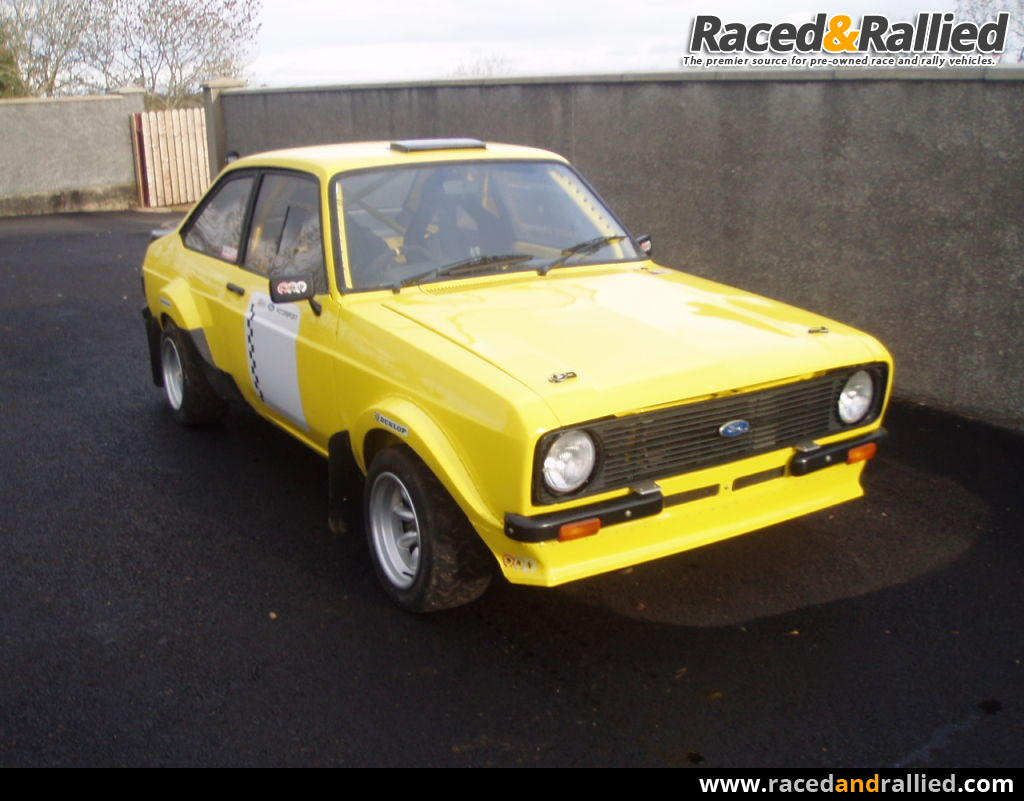 Ford Escort Mk2 Grp 4 Rally Car | Rally Cars for sale at Raced ...
