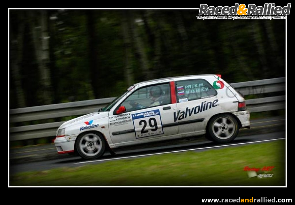 Renault Clio Williams top gr. N | Rally Cars for sale at Raced ...