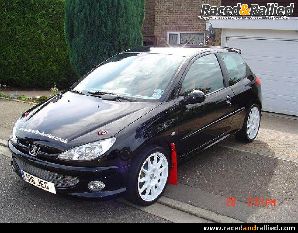 Car Battery Sale >> Peugeout 206 Track / Rally car   Performance & Trackday Cars for sale at Raced & Rallied   rally ...