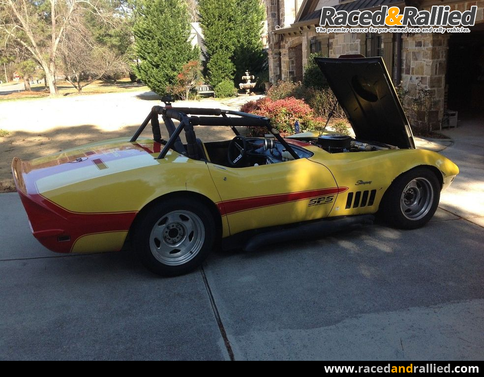 Race Cars For Sale At Raced Rallied: 1969 Chevrolet Corvette Race Car