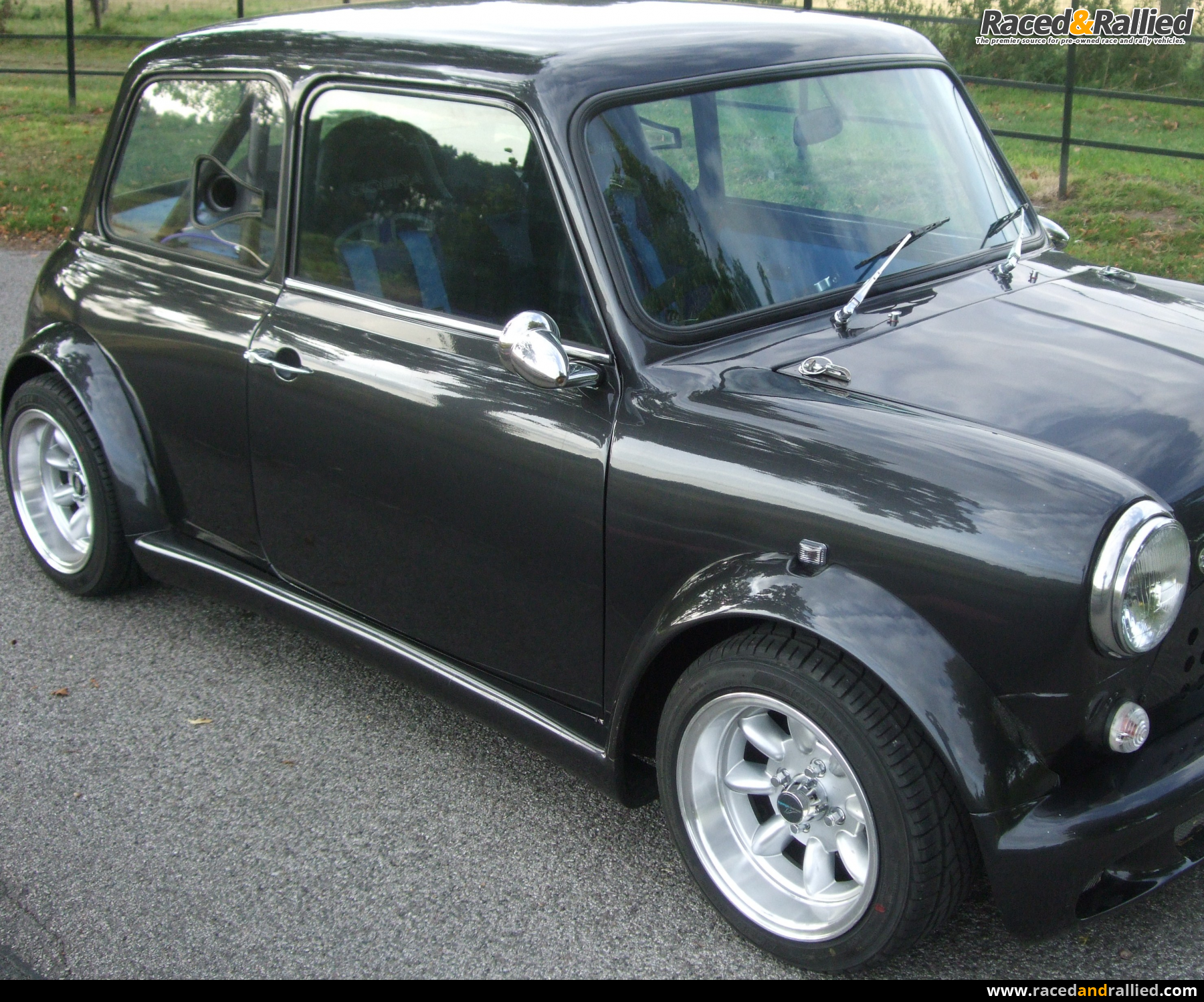 Z Cars Hayabusa Mini Trimmed In Leather Roll Cage Mot And