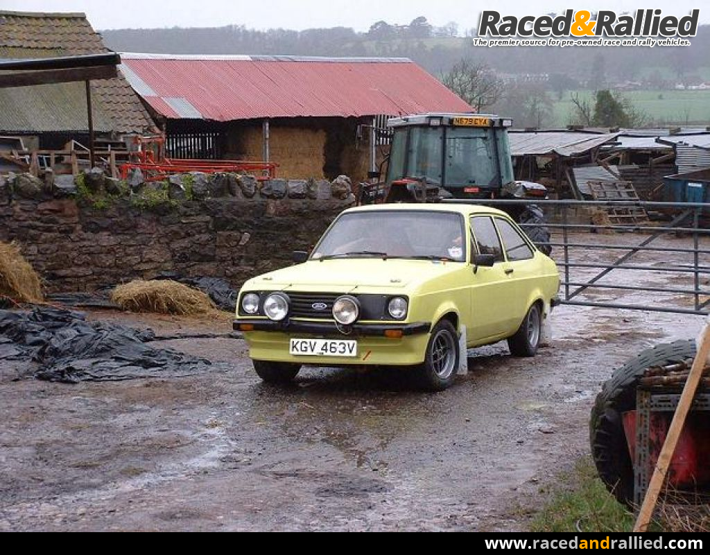 Escort Mk2 RS2000 Road Rally Car | Rally Cars for sale at Raced ...