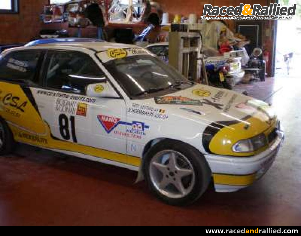 Opel Astra Gsi 16v Full Group N Rally Cars For Sale At