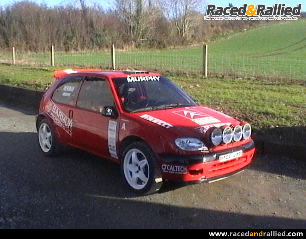 citroen saxo s1600 rally cars for sale at raced rallied rally cars for sale race cars for. Black Bedroom Furniture Sets. Home Design Ideas