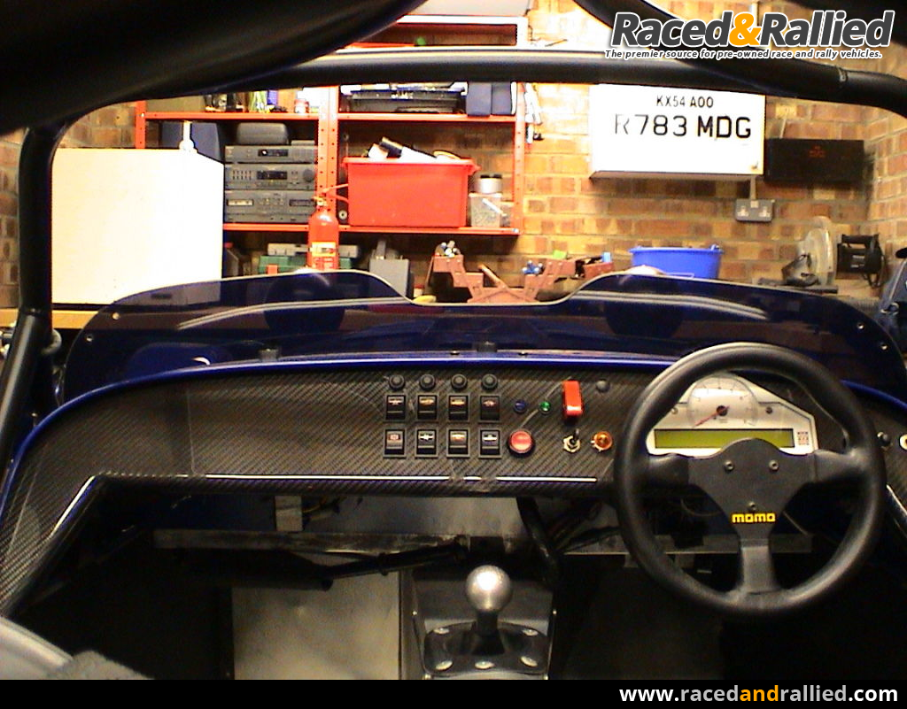 Cobra Kit Car >> Road specification Caterham R400 race car. | Caterhams for sale at Raced & Rallied | rally cars ...