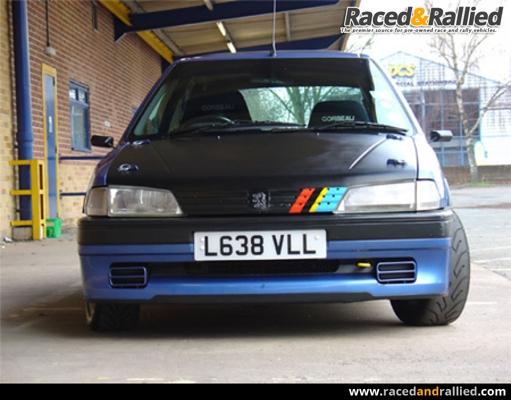 peugeot 106 xsi hillclimb sprint track car race cars for sale at raced rallied rally. Black Bedroom Furniture Sets. Home Design Ideas