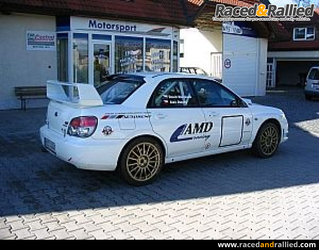 Subaru Impreza WRX Sti N12 | Rally Cars for sale at Raced & Rallied ...