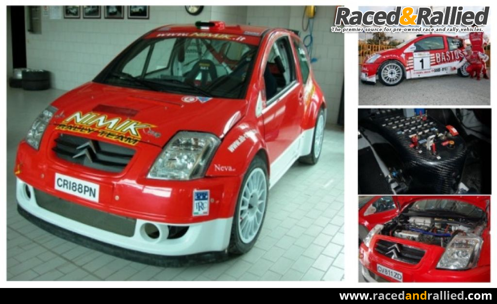 citroen c2 super 1600 39 05 rally cars for sale at raced rallied rally cars for sale race. Black Bedroom Furniture Sets. Home Design Ideas
