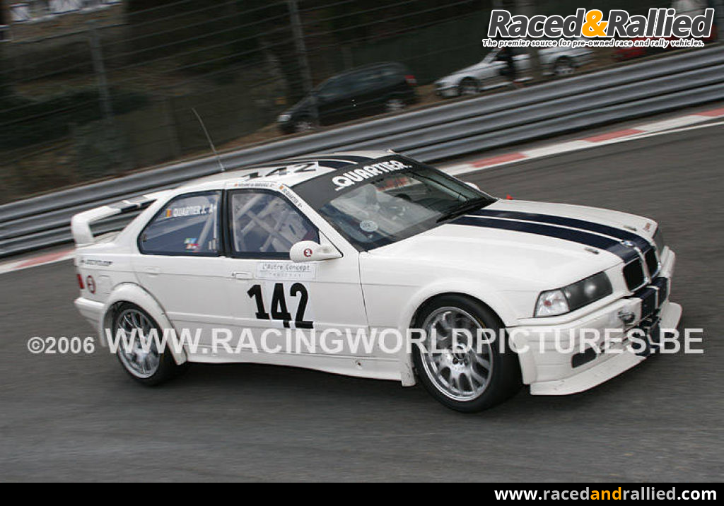 Bmw E36 M3 Race Cars For Sale At Raced Rallied Rally Cars For