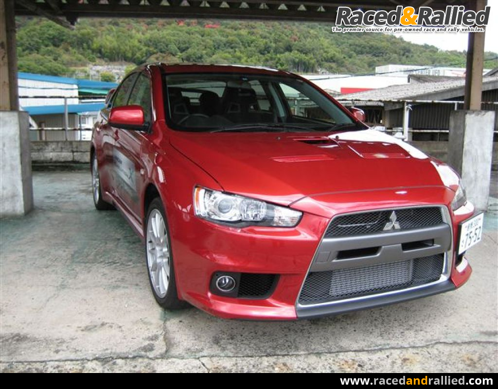mitsubishi lancer evo x rs rally cars for sale at raced. Black Bedroom Furniture Sets. Home Design Ideas