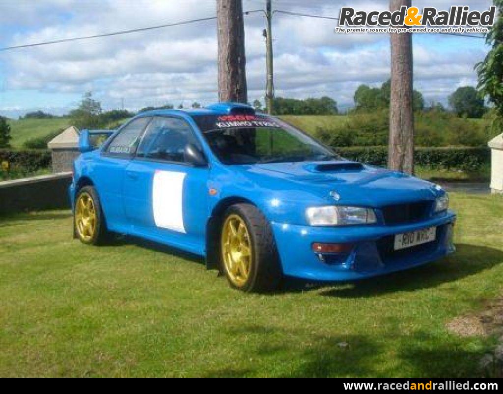 Subaru impreza wrc rally cars for sale at raced rallied rally cars for sale race cars for sale