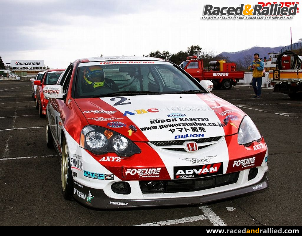 INTEGRA DC5 CUP*** | Race Cars for sale at Raced & Rallied | rally ...