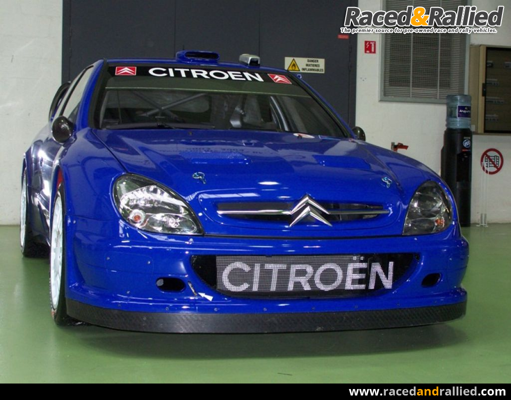 Citröen Xsara WRC 2005 | Rally Cars for sale at Raced & Rallied ...