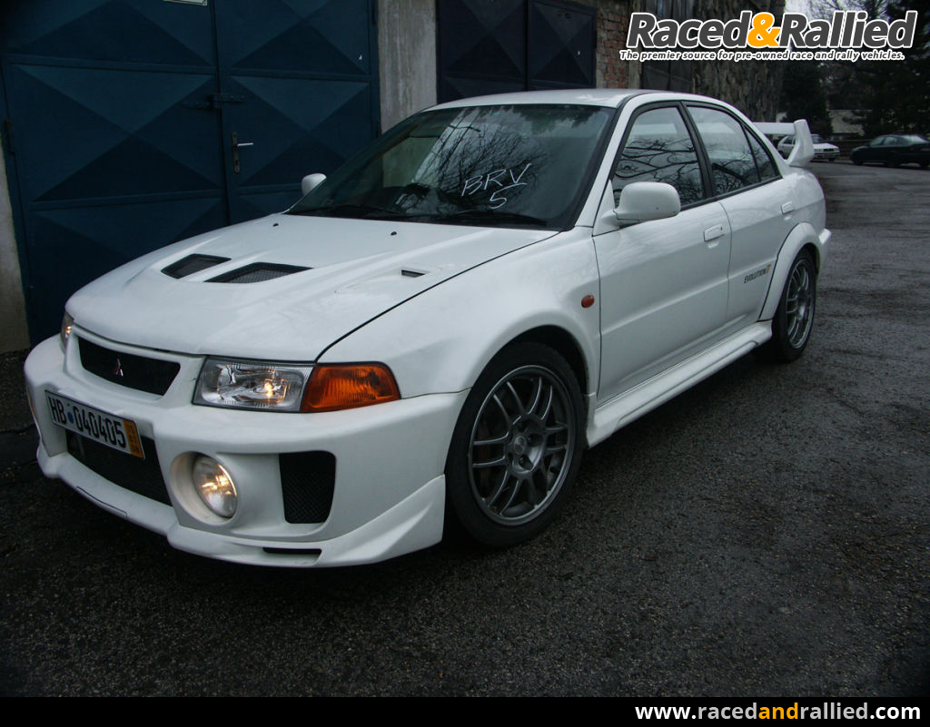Vintage Car Parts >> Mitsubishi Lancer EVO 5 GSR (RS teile) *390ps* | Performance & Trackday Cars for sale at Raced ...