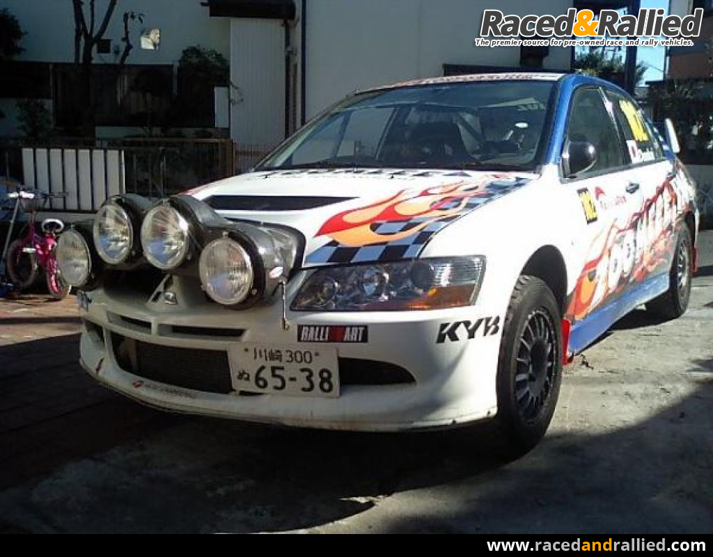 Mitsubishi Lancer Evo 8 Group N Rhd Rally Cars For Sale At Raced Amp Rallied Rally Cars For