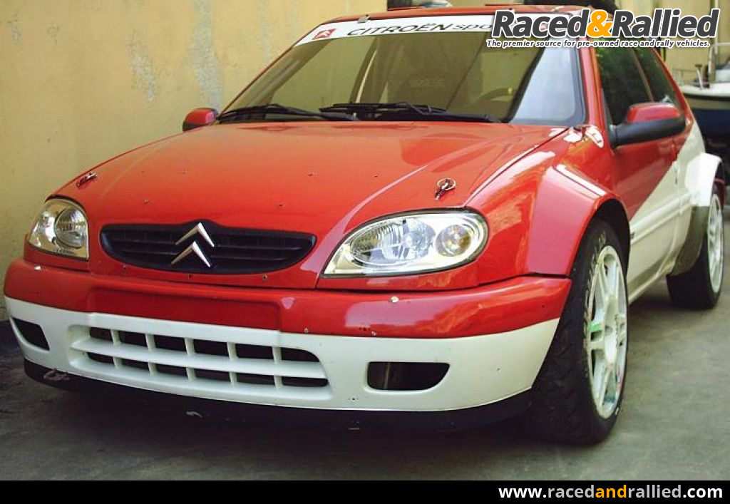 Citroen Saxo super 1600/Kit | Rally Cars for sale at Raced & Rallied ...