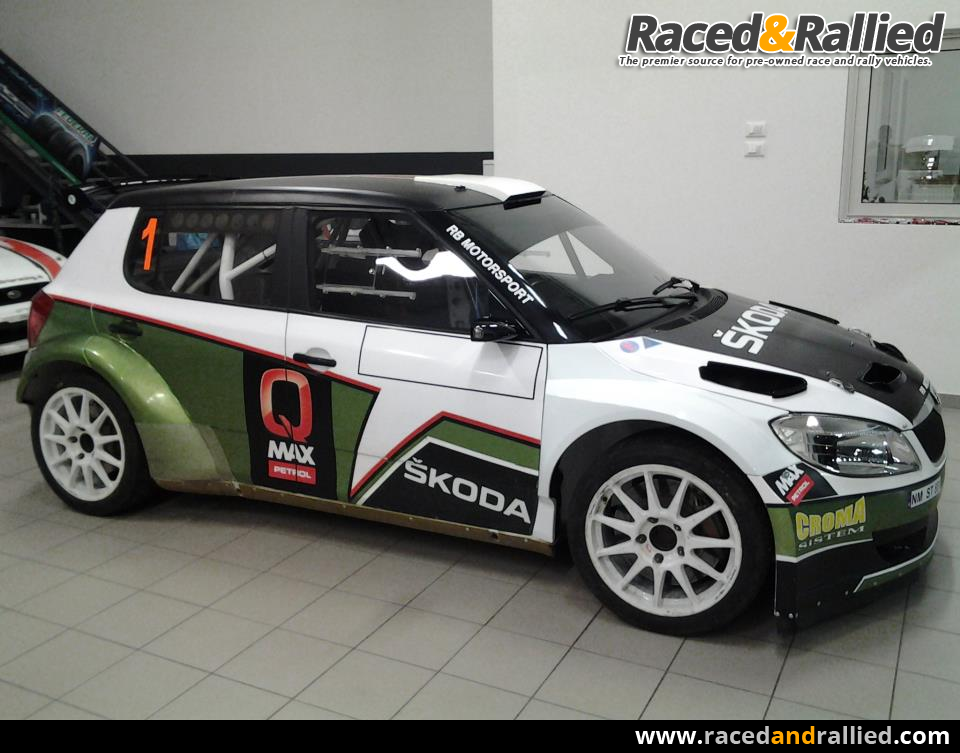 Skoda Fabia S2000 for RENT | Rally Cars for sale at Raced & Rallied ...