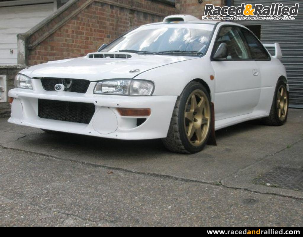 98 Wrc Subaru Impreza Ex Colin Mcrae Quot P2wrc Quot Rally Cars