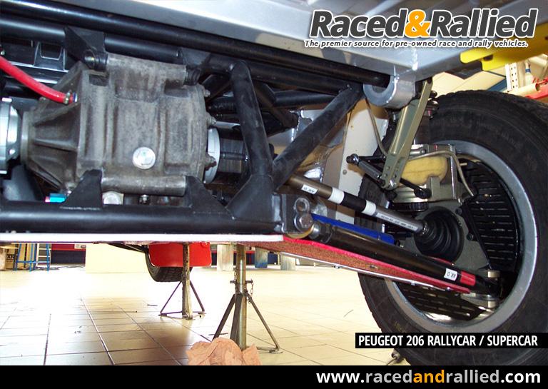 Peugeot 206 Rallycar Supercar With Seat C 243 Rdoba Wrc Engine