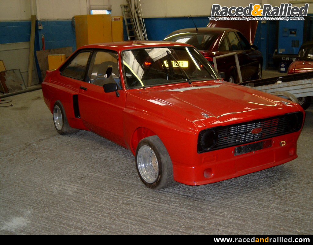 Mk2 Escort 1800 BDA | Race Cars for sale at Raced & Rallied | rally ...
