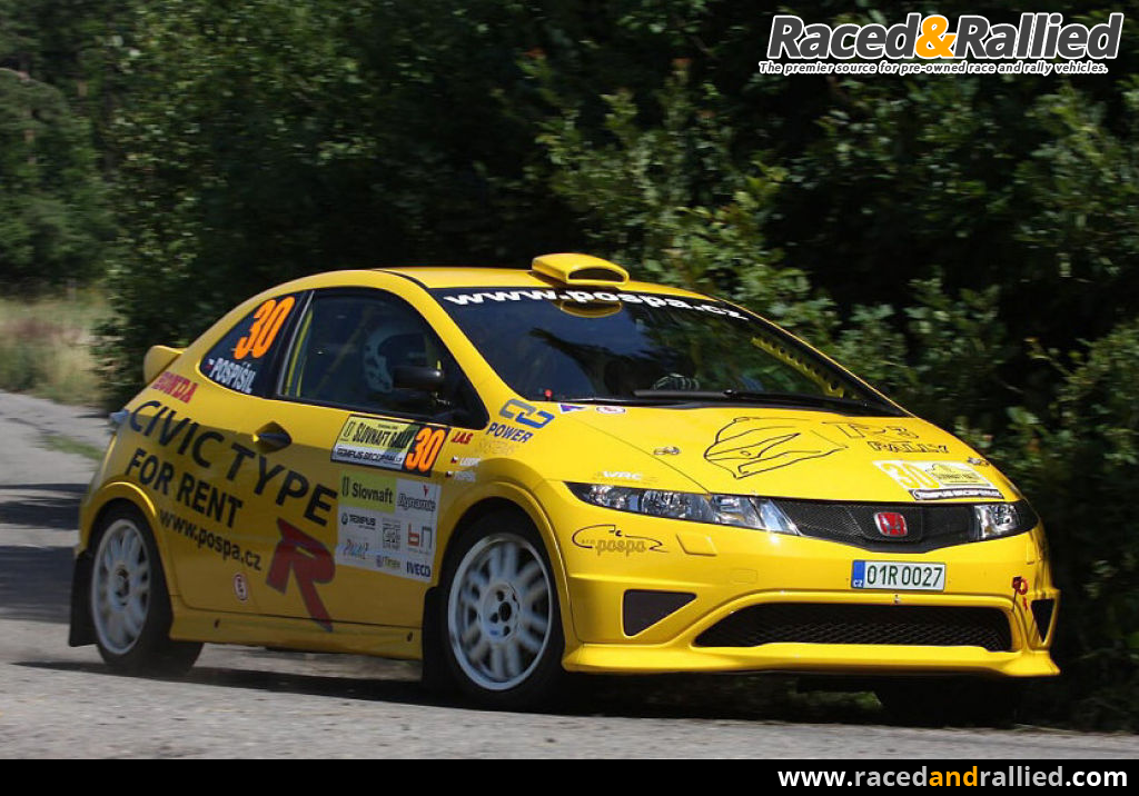 Honda civic type r r3 fn2 rally cars for sale at for Honda civic rally car