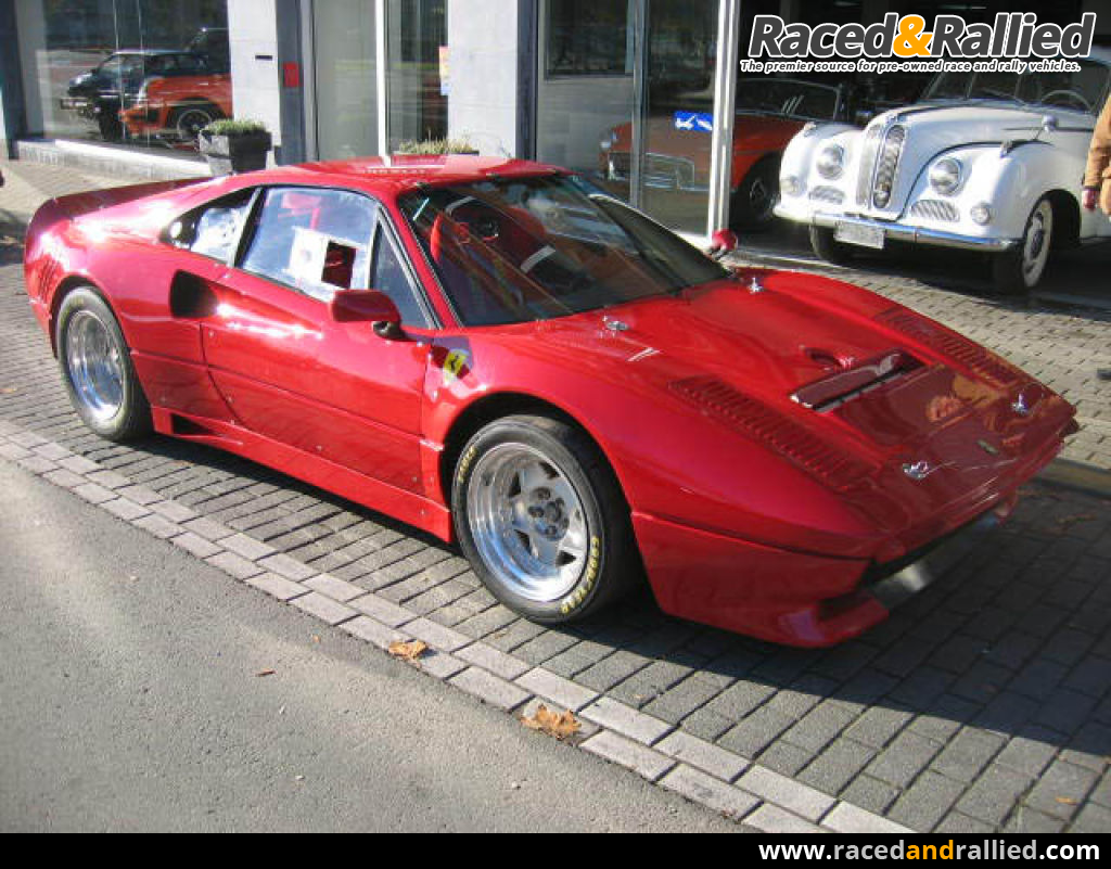 Ferrari 308/288 GTO Turbo | Race Cars for sale at Raced & Rallied ...