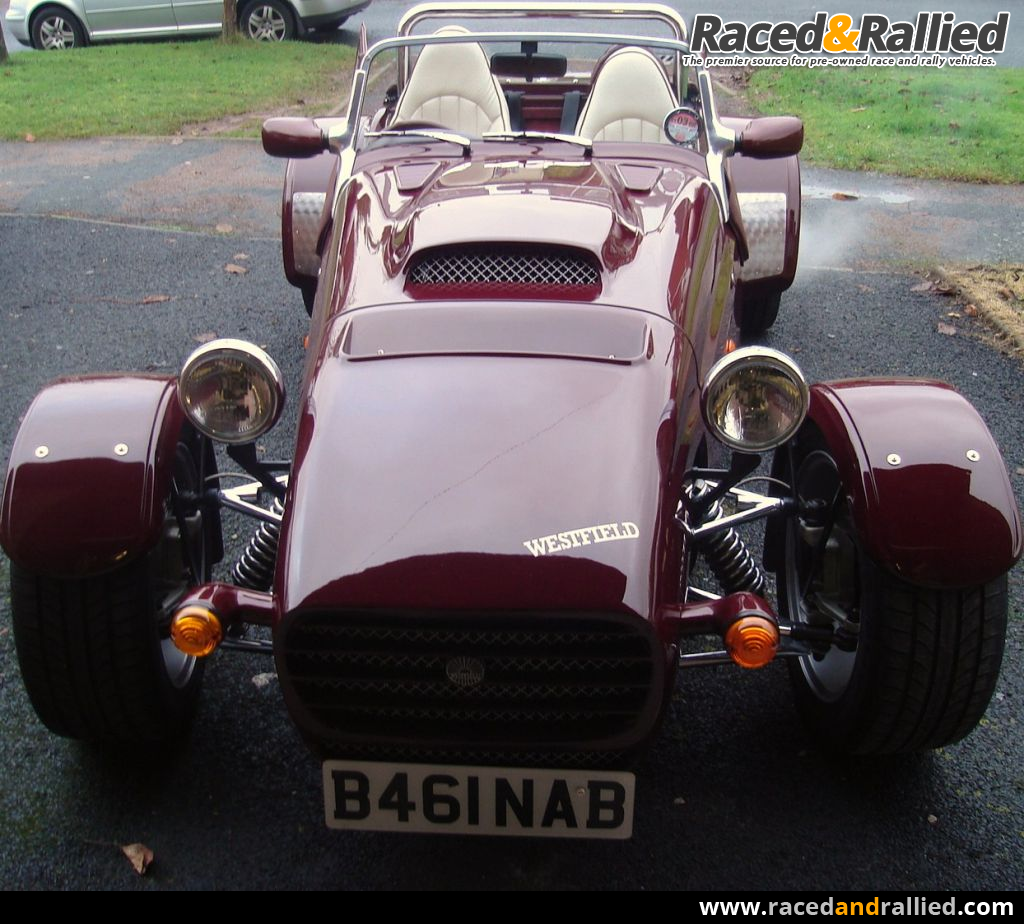 V8 Westfield SEIW   Westfields for sale at Raced & Rallied   rally