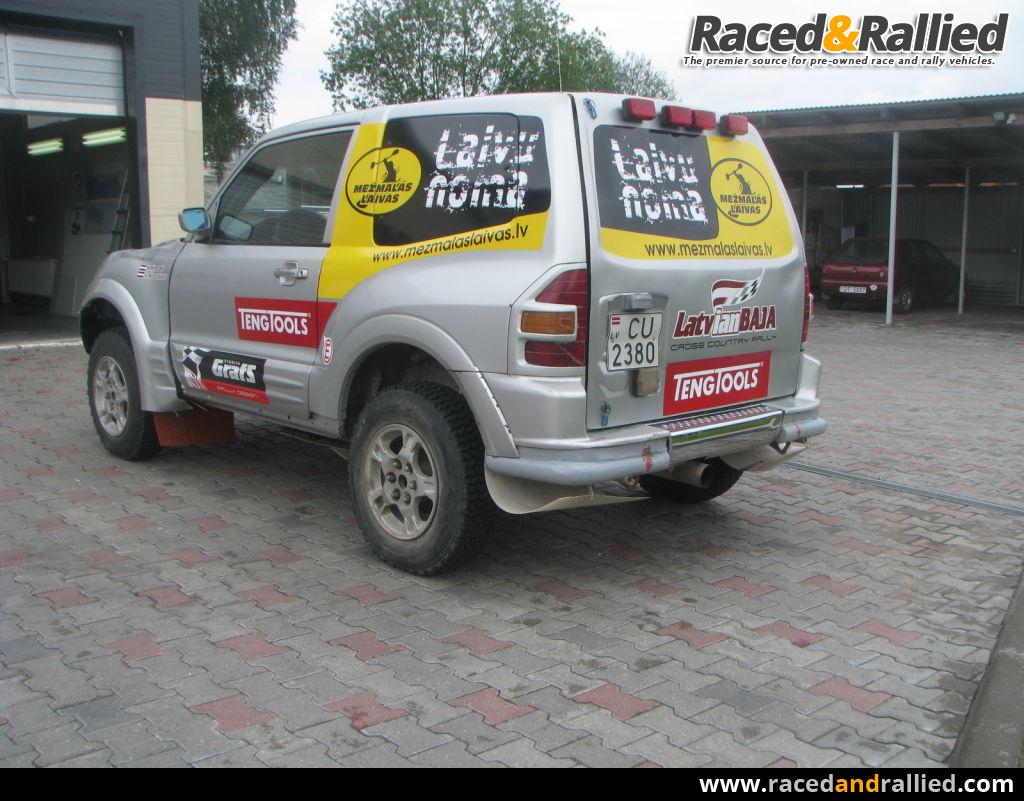 Mitsubishi Pajero Rally Raid Rally Cars For Sale At Raced Amp Rallied Rally Cars For Sale