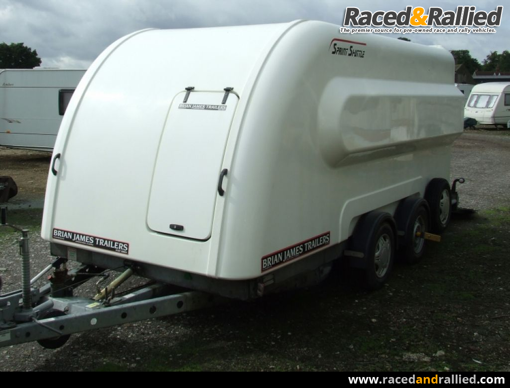 Brian James Sprint Shuttle trailer | Trailers & Transporter Parts ...