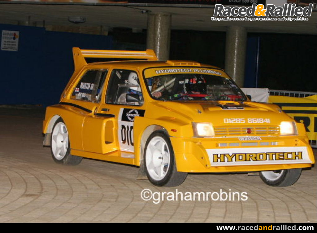 metro 6r4 2.8 | Rally Cars for sale at Raced & Rallied | rally cars ...