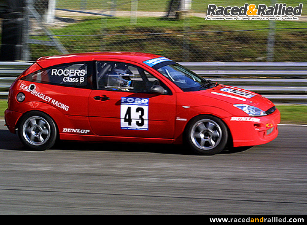 Ford Focus Race Car For Sale £9700 | Race Cars for sale at ...