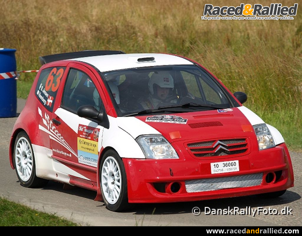 03 Cobra For Sale >> Citroen C2 S1600   Rally Cars for sale at Raced & Rallied ...